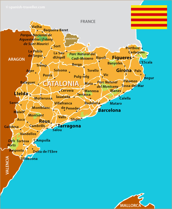 Map-Of-Catalonia